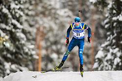 March 9, 2019 - –Stersund, Sweden - 190309 Roman Yeremin of Kazakhstan competes in the Men's 10 KM sprint during the IBU World Championships Biathlon on March 9, 2019 in Östersund..Photo: Petter Arvidson / BILDBYRÃ…N / kod PA / 92252 (Credit Image: © Petter Arvidson/Bildbyran via ZUMA Press)
