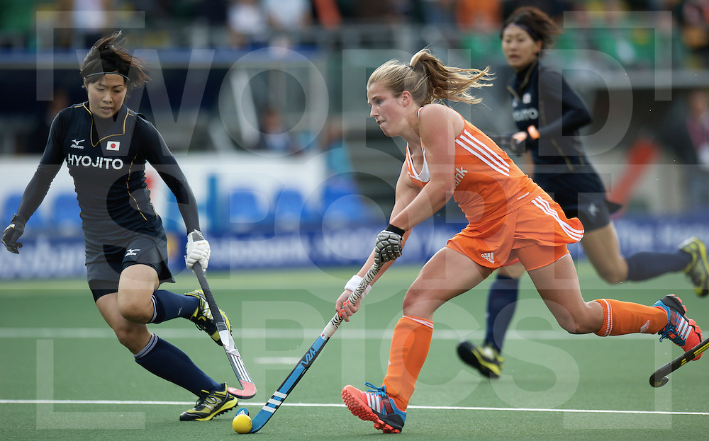 DEN HAAG - Rabobank Hockey World Cup<br /> 03 Netherlands - Japan<br /> foto: Xan de Waard.<br /> COPYRIGHT FRANK UIJLENBROEK FFU PRESS AGENCY