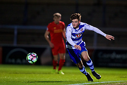 HIGH WYCOMBE, ENGLAND - Monday, March 6, 2017: Reading's Tyler Frost in action against Liverpool during the FA Premier League 2 Division 1 Under-23 match at Adams Park Stadium. (Pic by David Rawcliffe/Propaganda)