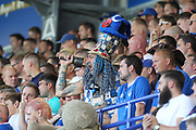 Portsmouth Super Fan during the EFL Sky Bet League 1 match between Portsmouth and Rochdale at Fratton Park, Portsmouth, England on 5 August 2017. Photo by Daniel Youngs.