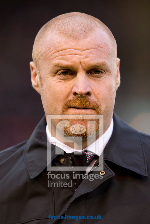 Burnley manager Sean Dyche before the Barclays Premier League match at Turf Moor, Burnley<br /> Picture by Russell Hart/Focus Images Ltd 07791 688 420<br /> 13/12/2014