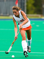 August 29, 2008 - CHARLOTTESVILLE, VA -  Virginia Cavaliers Floor Vogels (20) in action against W&M.   The Virginia Cavaliers field hockey team defeated the William and Mary Tribe 5-0 on the University Hall Turf Field on the Grounds of the University of Virginia in Charlottesville, VA.