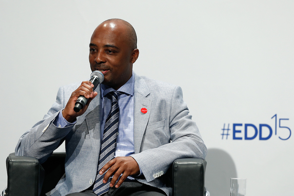 04 June 2015 - Belgium - Brussels - European Development Days - EDD - Education - Right to quality education - Nesmy Manigat , Minister for Education and Vocational Training , Haiti © European Union