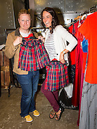 29:05:2013<br /> <br /> Miss Scotland 2013 -  The Final<br /> <br /> Hosts Jennifer Reoch and Gary Lamont backstage before rehearsals.<br /> <br /> <br /> Pic:Andy Barr<br /> <br /> 07974 923919  (mobile)<br /> andy_snap@mac.com<br /> <br /> All pictures copyright Andrew Barr Photography. <br /> <br /> Please contact before any syndication