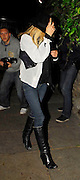 17.MAY.2007. LONDON<br /> <br /> A VERY ANGRY KATE MOSS ARRIVES AT A STUDIO IN WEST LONDON IN WEST LONDON TO MEET PETE AT 9.45PM AND DROPS HER LIGHTER OUT THE CAR. THEY BOTH LEFT AT 11.45PM AND KATE WAS WEARING A SCRUFFY WHITE SHIRT OVER HER TOP THAT LOOKED LIKE ONE OF PETE'S AND THEN WENT HOME, PETE THEN GOT SOME PICTURE FRAMES OUF THE CAB ALONG WITH TWO BIG BAGS AND WENT INSIDE.<br /> <br /> BYLINE: EDBIMAGEARCHIVE.CO.UK<br /> <br /> *THIS IMAGE IS STRICTLY FOR UK NEWSPAPERS AND MAGAZINES ONLY*<br /> *FOR WORLD WIDE SALES AND WEB USE PLEASE CONTACT EDBIMAGEARCHIVE - 0208 954 5968*
