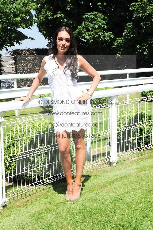 TAMARA ECCLESTONE at the Investec Ladies Day at Epsom Racecourse, Surrey on 4th June 2010.