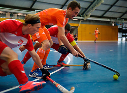 LEIZPIG - WC HOCKEY INDOOR 2015<br /> NED v POL (Pool B)<br /> Foto:LEIJS Nicki<br /> FFU PRESS AGENCY COPYRIGHT SANDER UIJLENBROEK
