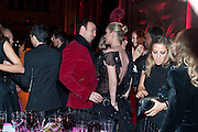 ALEXIS ROCHE; KATE MOSS, British Fashion awards 2009. Supported by Swarovski. Celebrating 25 Years of British Fashion. Royal Courts of Justice. London. 9 December 2009