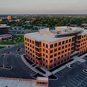 New office construction development, Nall Corporate Centre 2; Block Real Estate Services. Overland Park, Kansas.