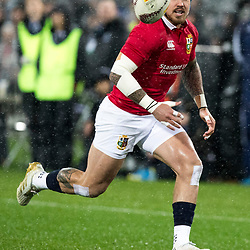 Jack Nowell during game 9 of the British and Irish Lions 2017 Tour of New Zealand, the second Test match between  The All Blacks and British and Irish Lions, Westpac Stadium, Wellington, Saturday 1st July 2017<br /> (Photo by Kevin Booth Steve Haag Sports)<br /> <br /> Images for social media must have consent from Steve Haag