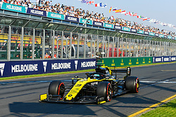 March 16, 2019 - Melbourne, Victoria, Australia - Daniel Ricciardo (3) of Australia drives the Renault F1 Team R.S.19 during qualifying for the Australian Formula 1 Grand Prix at Albert Park on March 16, 2019 in Melbourne, Australia  (Credit Image: © Morgan Hancock/NurPhoto via ZUMA Press)