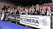 DESCRIZIONE : Final Four Coppa Italia DNB IG Cup RNB Rimini 2015 Finale BCC Agropoli - Contaldi Castaldi Montichiari<br /> GIOCATORE : Onda Bianconera<br /> CATEGORIA : Ultras Tifosi Spettatori Pubblico Ritratto Esultanza<br /> SQUADRA : Contaldi Castaldi Montichiari<br /> EVENTO : Final Four Coppa Italia DNB IG Cup RNB Rimini 2015<br /> GARA : BCC Agropoli - Contaldi Castaldi Montichiari<br /> DATA : 08/03/2015<br /> SPORT : Pallacanestro <br /> AUTORE : Agenzia Ciamillo-Castoria/L.Canu