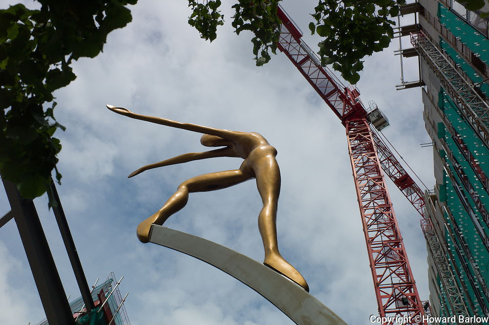 Building work at FIRST STREET, MANCHESTER<br />