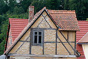 altes Fachwerkhaus, Ettersburg bei Weimar, Thüringen, Deutschland | old timber framed house, Ettersburg near Weimar, Thuringia, Germany