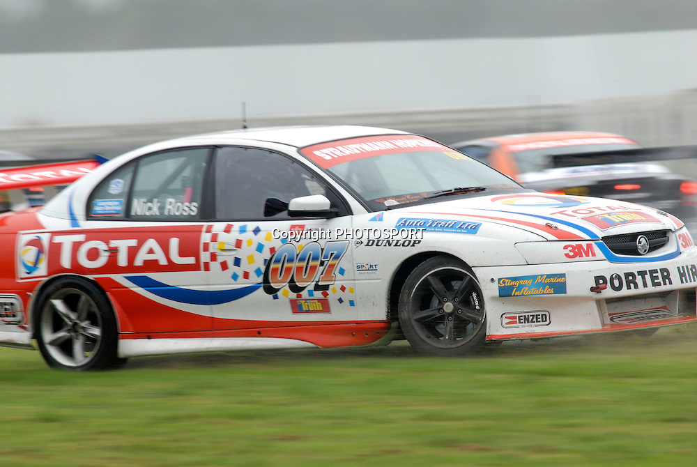 Nick Ross during Auckland Car Club 75th Anniversary Trophy race, New Zealand Truth V8s Championship, Pukekohe Park Raceway, New Zealand. Sunday 04 November 2007, Photo : William Booth/PHOTOSPORT