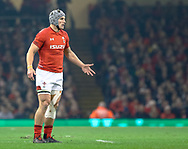 Jonathan Davies of Wales<br /> <br /> Photographer Simon King/Replay Images<br /> <br /> Under Armour Series - Wales v South Africa - Saturday 24th November 2018 - Principality Stadium - Cardiff<br /> <br /> World Copyright © Replay Images . All rights reserved. info@replayimages.co.uk - http://replayimages.co.uk