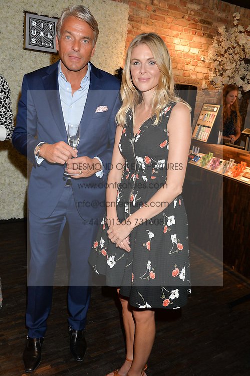 DONNA AIR and RAYMOND CLOOSTERMAN CEO of Rituals at the launch of the new Rituals store at 29 James Street, Covent Garden, London on 1st September 2016.