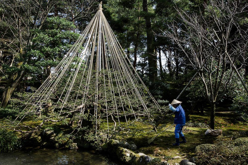 Kanazawa, March 17 2015 - Kenrokuen Garden.