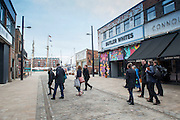 6 February 2017: Humber Street, Hull - the Fruit Market.<br />