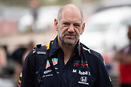 ALBERT PARK, VIC - MARCH 15: Aston Martin Red Bull Racing chief technical officer Adrian Newey arrives at The Australian Formula One Grand Prix on March 15, 2019, at The Melbourne Grand Prix Circuit in Albert Park, Australia. (Photo by Speed Media/Icon Sportswire)
