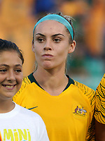 International Women's Friendly Matchs 2019 / <br /> Cup of Nations Tournament 2019 - <br /> Australia v New Zealand 2-0 ( Leichhardt Oval Stadium - Sidney,Australia ) - <br /> Ellie Carpenter of Australia