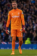 Rangers Keeper Allan McGregor during the Betfred Scottish League Cup semi-final match between Rangers and Heart of Midlothian at Hampden Park, Glasgow, United Kingdom on 3 November 2019.
