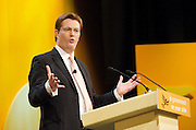 Liberal Democrats<br /> Autumn Conference 2011 <br /> at the ICC, Birmingham, Great Britain <br /> <br /> 17th to 21st September 2011 <br /> <br /> The Right Honourable<br /> Danny Alexander <br /> MP<br /> Chief Secretary to the Treasury<br /> <br /> Photograph by Elliott Franks