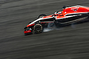 March 28, 2014 - Sepang, Malaysia. Malaysian Formula One Grand Prix. Jules Bianchi (ITA), Marussia-Ferrari<br /> <br /> © Jamey Price / James Moy Photography