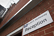 The prison reception that accepts  prisoners from court directly to HMP Holloway, the main womens prison in London.