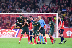 March 15, 2019 - Lille, France - JOIE - 11 CARLOS VINICIUS (MONA) - 07 RONY LOPES  (Credit Image: © Panoramic via ZUMA Press)
