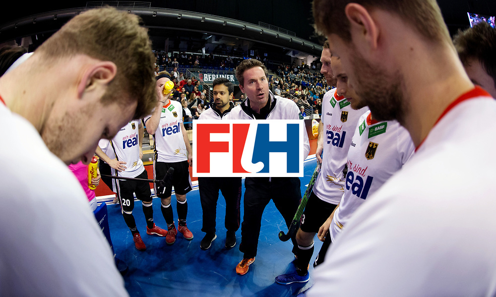 BERLIN - Indoor Hockey World Cup<br /> Men: Germany -  Trinidad &amp; Tobago<br /> foto: Stefan Kermas.<br /> WORLDSPORTPICS COPYRIGHT FRANK UIJLENBROEK