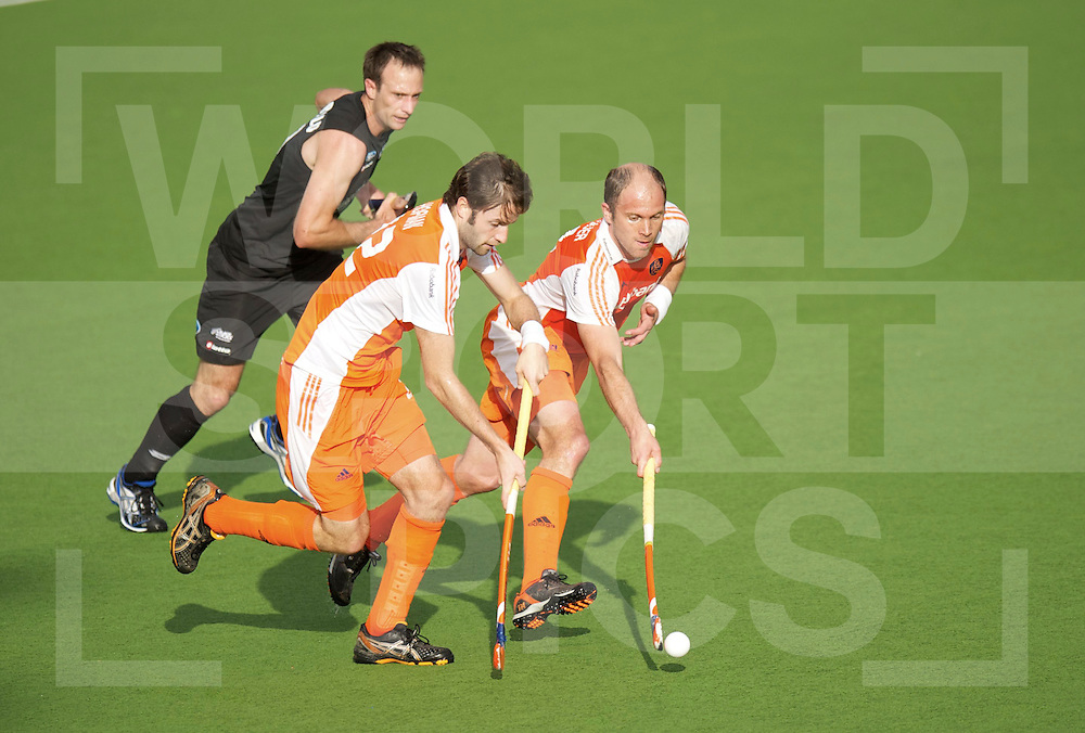 AUCKLAND - Champions Trophy men.Netherlands v New Zealand.foto: Rogier Hofman en Teun de Nooijer..FFU Press Agency  COPYRIGHT FRANK UIJLENBROEK..