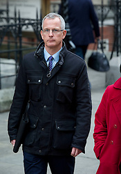 © Licensed to London News Pictures. 27.02.12 London, UK..Former Scotland Yard deputy assistant commissioner Brian Paddick leaves the Royal Courts of Justice after giving evidence at the Leveson Inquiry in to press standards..Photo credit : Simon Jacobs/LNP