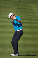 18.01.2013 Abu Dhabi HSBC Golf championship european tour, round 2, chris Wood