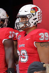 NORMAL, IL - September 08: Zachary Mathews during 107th Mid-America Classic college football game between the ISU (Illinois State University) Redbirds and the Eastern Illinois Panthers on September 08 2018 at Hancock Stadium in Normal, IL. (Photo by Alan Look)