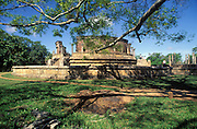 The Vatadage (Circular Relic House) at Polonnaruwa. ..A UNESCO World Heritage Site.
