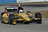 Graham Rahal, Sebring test, 2/19/2013