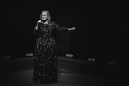 Adele performs at the American Airlines Center in Dallas, Texas on November 1, 2016.