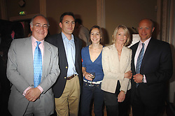 Left to right, MICHAEL HOWARD, NICK HOWARD, LARISSA PERSONS, SANDRA HOWARD and SHOLTO DOUGLAS-HOME at a party to celebrate the publication of Sandra Howard's book 'Ursula's Stor' held at The British Academy, 10 Carlton House Terace, London on 4th September 2007.<br />