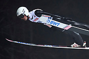 Poland, Wisla Malinka - 2017 November 18: Piotr Zyla from Poland soars through the air during FIS Ski Jumping World Cup Wisla 2017/2018 - Day 1 at jumping hill of Adam Malysz on November 18, 2017 in Wisla Malinka, Poland.<br /> <br /> Mandatory credit:<br /> Photo by &copy; Adam Nurkiewicz<br /> <br /> Adam Nurkiewicz declares that he has no rights to the image of people at the photographs of his authorship.<br /> <br /> Picture also available in RAW (NEF) or TIFF format on special request.<br /> <br /> Any editorial, commercial or promotional use requires written permission from the author of image.