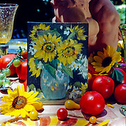 Tomatoes & Sunflowers