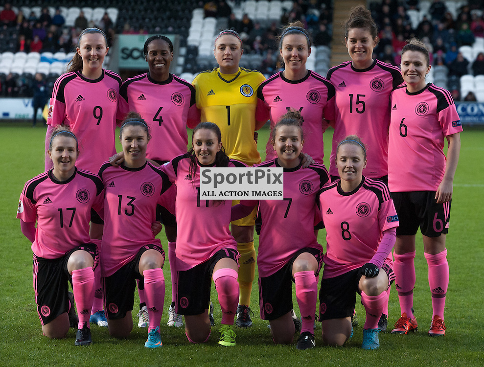 Scotland Women<br /> <br /> UEFA Women's European Championship Qualifying - Group 1 <br /> Scotland v FYR Macedonia<br /> St Mirren Park, Paisley<br /> Sunday 29 November 2015<br /> <br /> &copy; Russel Hutcheson | SportPix 2015