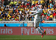 Wayne Rooney of England during the 2014 FIFA World Cup match at Mineir&atilde;o, Belo Horizonte, Brazil. <br /> Picture by Andrew Tobin/Focus Images Ltd +44 7710 761829<br /> 24/06/2014
