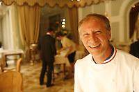 Chef Eric Frechon of Le Bristol, Paris