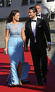 Stockholm, 12-06-2015<br /> <br /> Wedding Prince Carl Phillip of Sweden and Sofia Hellqvist.<br /> <br /> A private dinner for invited guests.<br /> The bride and groom and their invited guests will travel with S/S Stockholm to the private dinner.<br /> <br /> <br /> <br /> <br /> Photo:Royalportraits Europe/Bernard Ruebsamen