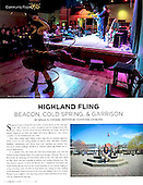 "May 2015 Chronogram, ""Highland Fling"""
