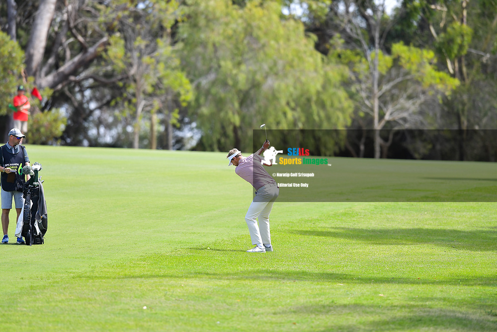 PERTH, AUSTRALIA - FEBRUARY 16: Ben Evans (ENG) on the 2nd during the 3rd round of the ISPS Handa World Super 6, Lake Karrinyup Country Club, Perth, Western Australia, on February 16, 2019. <br /> .<br /> .<br /> .<br /> (Photo by: Naratip Golf Srisupab/SEALs Sports Images)<br /> .<br /> Any image use must include a mandatory credit line adjacent to the content which should read: Naratip Golf Srisupab/SEALs Sports Images