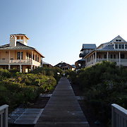 Florida condos on the beach along the Florida Scenic Highway 30A and the Emerald Coast in the panhandle area of Florida.(AP Photo/Alex Menendez) Florida scenic highway photos from the State of Florida. Florida scenic images of the Sunshine State.