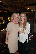 Alexandra Lovell and Arina Lovell at the Opening of The LAPADA  Art and Antiques Fair. Berkeley Sq. London. 24 September 2013.