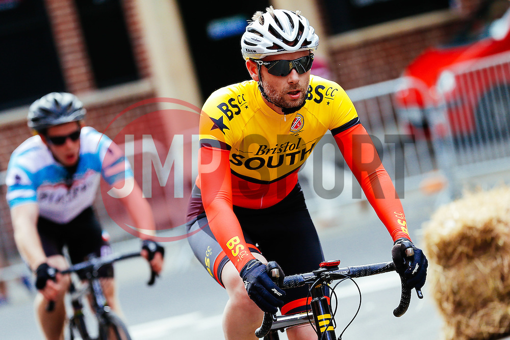 The Mens Category 3 and 4 Cyclists take part in the first ever Bristol Grand Prix, a closed circuit city centre bicycle road race - Mandatory byline: Rogan Thomson/JMP - 07966 386802 - 20/06/2015 - SPORT - Cycling - Bristol, England.
